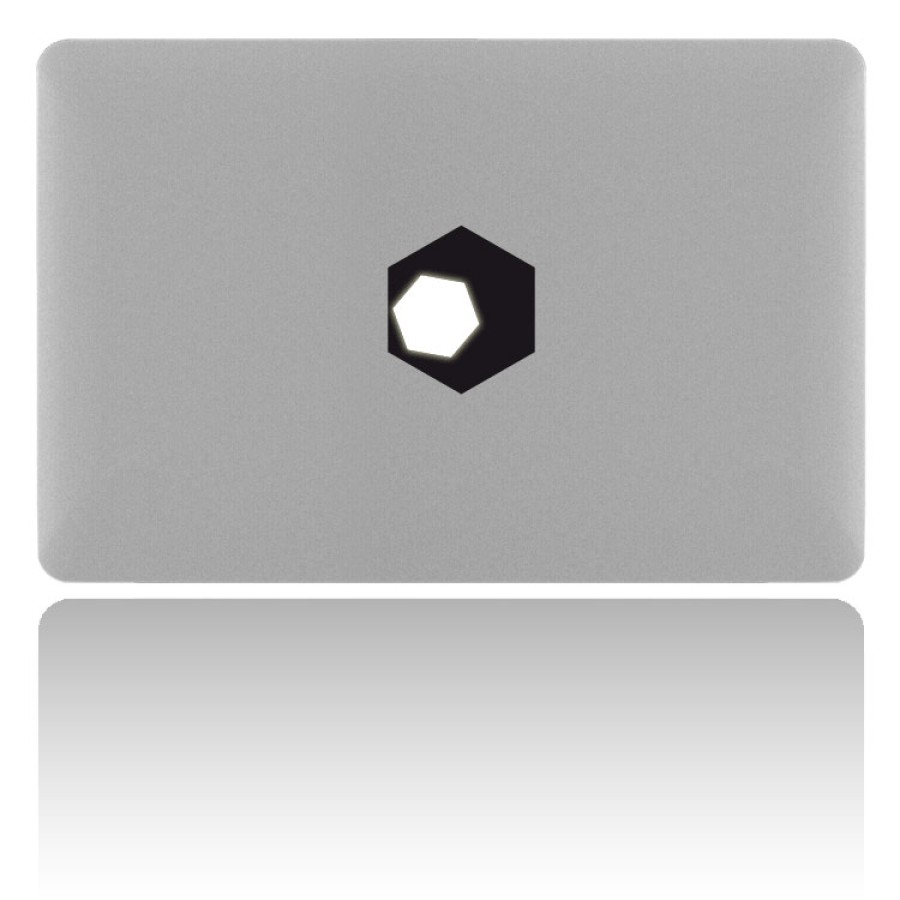 MacBook Sticker POLY-SIX