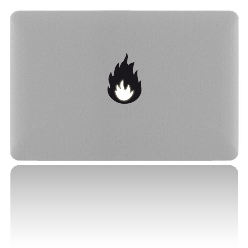 MacBook Sticker FIRE