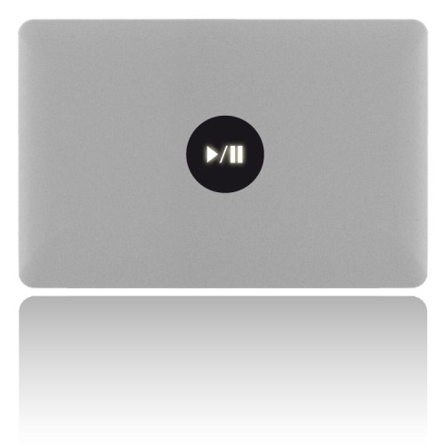 MacBook Sticker PLAY/PAUSE