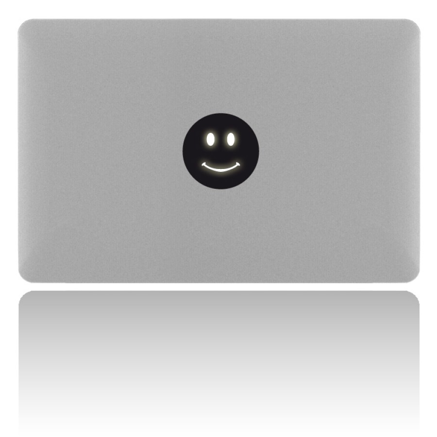 MacBook Sticker SMILEY