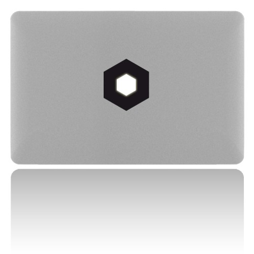 MacBook Sticker HEXAGON